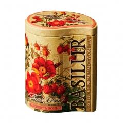 Чай Basilur Малина и шиповник (100 г)