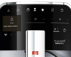 Melitta CAFFEO Barista TS silver